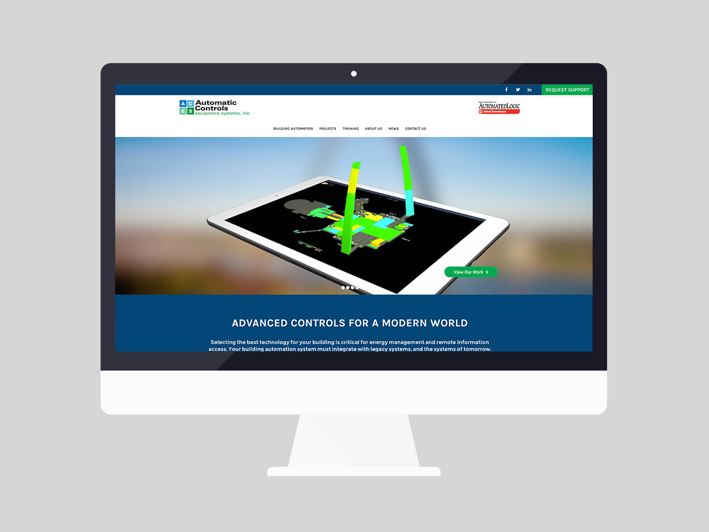 Automatic Controls Website Design and Development